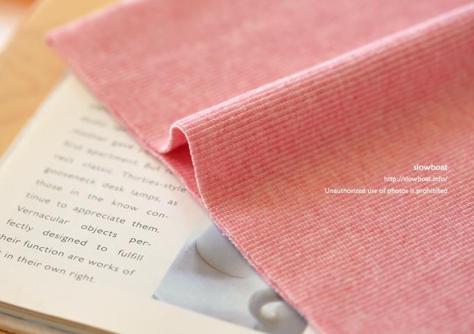 △30/スパンテレコ 【TOP杢 ピンク】